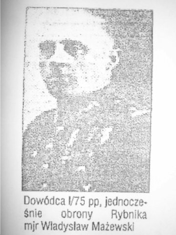mjr Władyslaw Mażewski