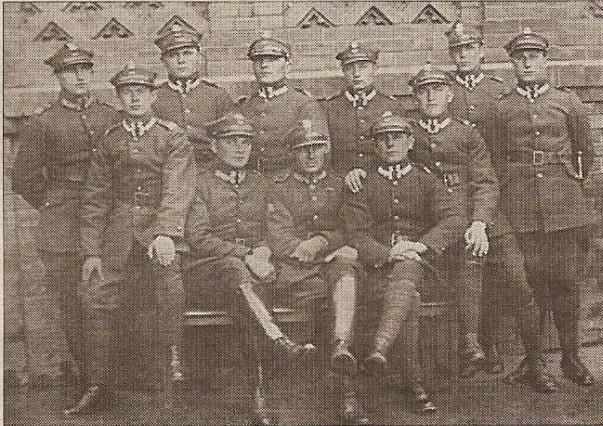 Żołnierze 1 kompanii 75p.p. z Rybnika