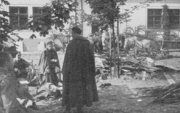 Rybnik 2 IX 1939 - polscy jeńcy.