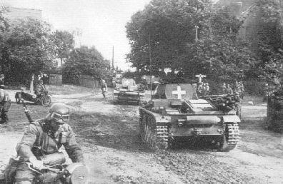 Rybnik 1939. Niemcy pod miastem.