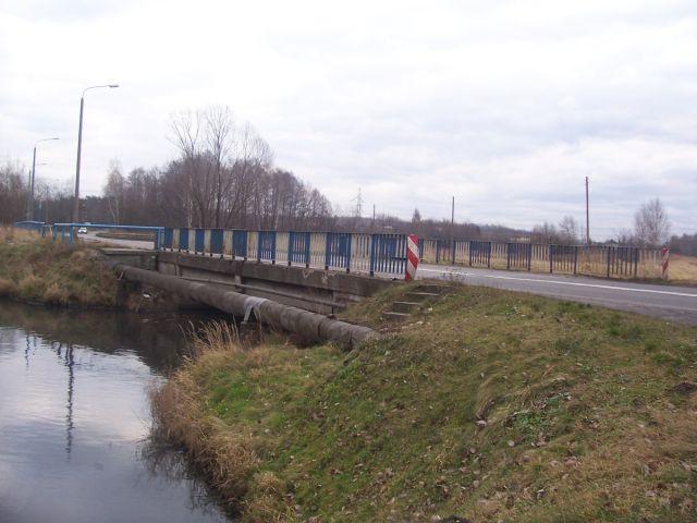 Most na rzece Nacynie na ulicy Rudzkiej