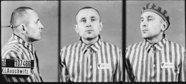 Zdjęcie Franciszka Ogona z Oświęcimia.