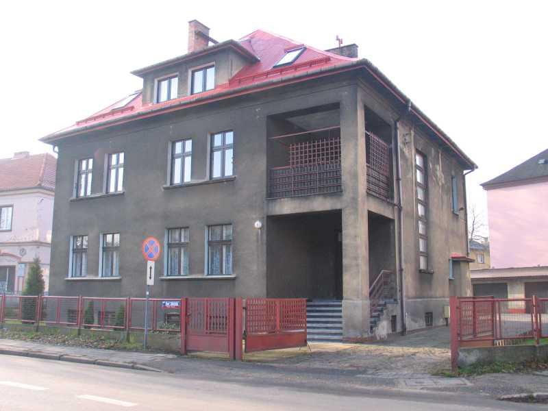 Budynek przy ul. św. Józefa, gdzie miało swoją siedzibę Gestapo w Rybniku.