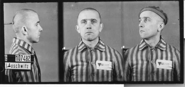 Stanisław Sobik - zdjęcie z Oświęcimia