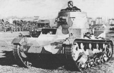 Polski czołg Vickers.