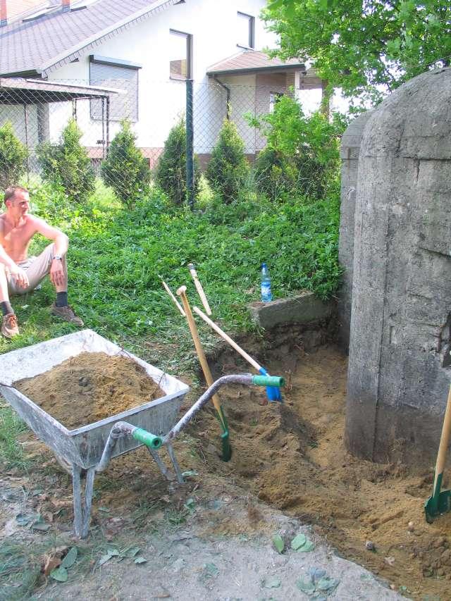 Odkopany róg