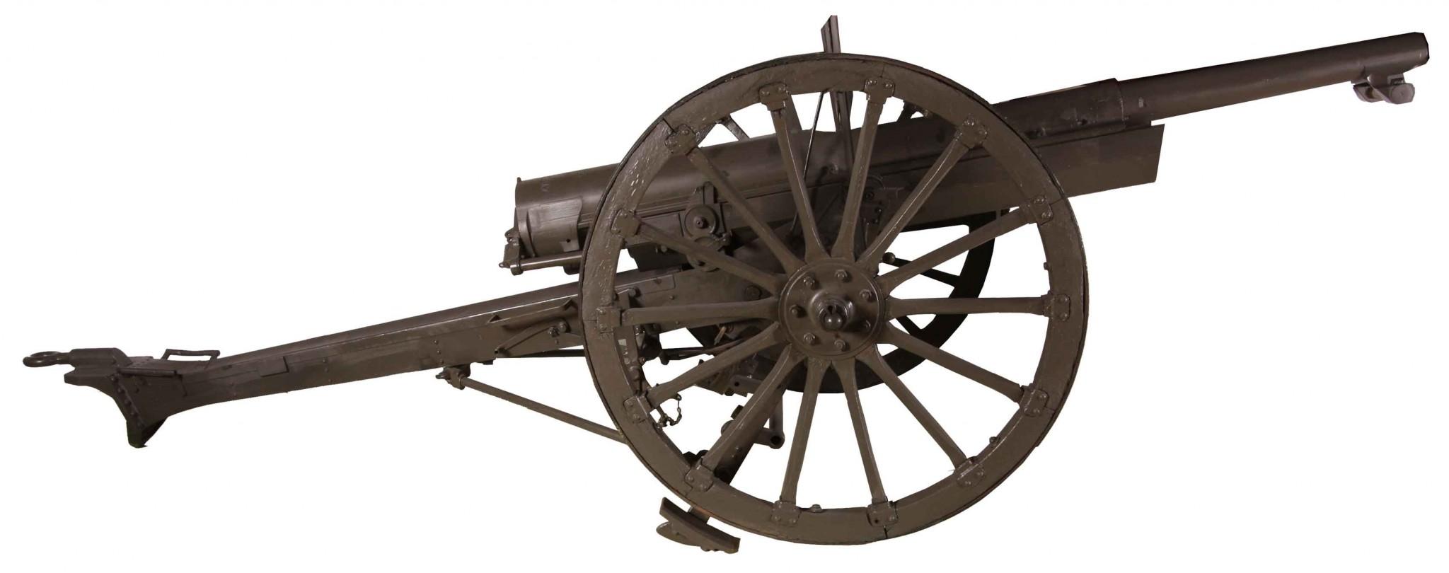 Armata polowa wz. 1897 kal. 75 mm (fot. www.muzeumwp.pl)