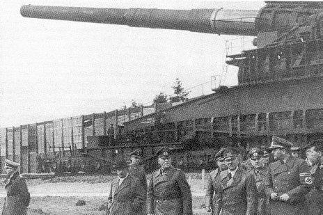 Hitler inspektujący Dore