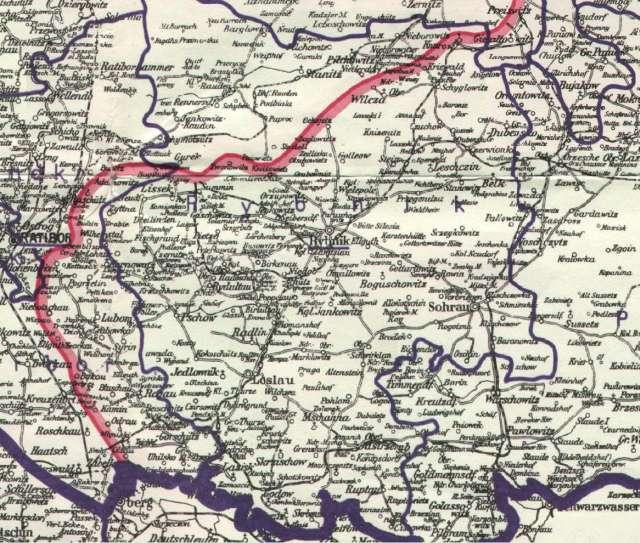 Powiat rybnicki w czasie plebiscytu