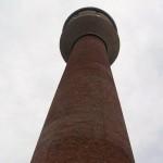 Wieża ciśnień przy zabytkowej kopalni Ignacy - Hoym