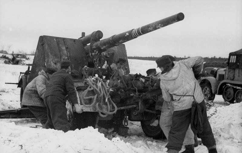 Niemieckie działo przeciwlotnicze