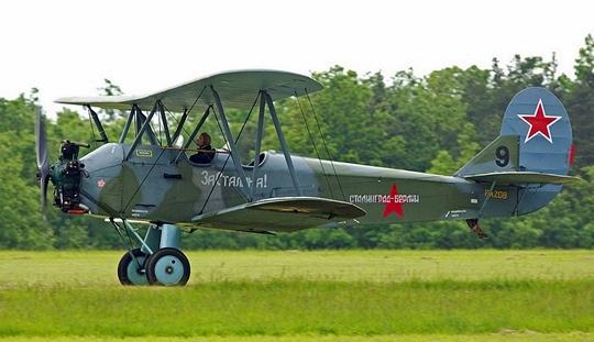 """Sowiecki samolot patrolowy """"kukuruźnik"""""""
