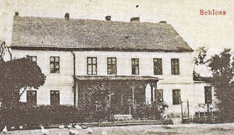Zamek w Gotartowicach. Spłonął 30.1.1945