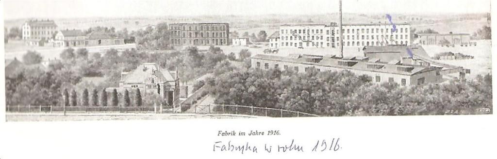 Fabryka w 1916 roku