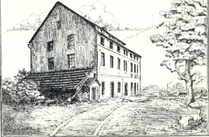 Garbarnia w 1862 roku