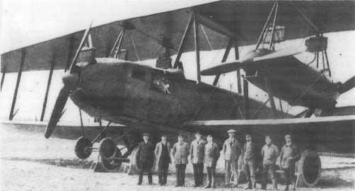 Zeppelin-Staaken R.XIV - dokładnie taki sam jak rozbity samolot. (http://de.valka.cz/viewtopic.php/t/54604/start/-1)