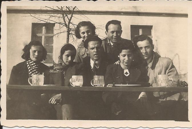 Hans z przyjaciolmi Rybnik 1939
