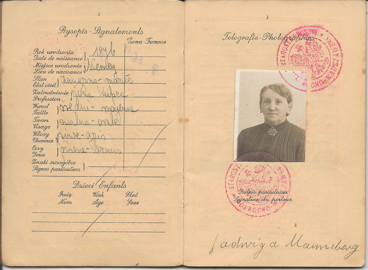 Jadwiga passport-2