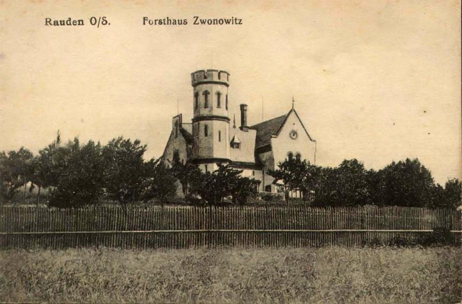 Leśniczówka w Zwonowicach.