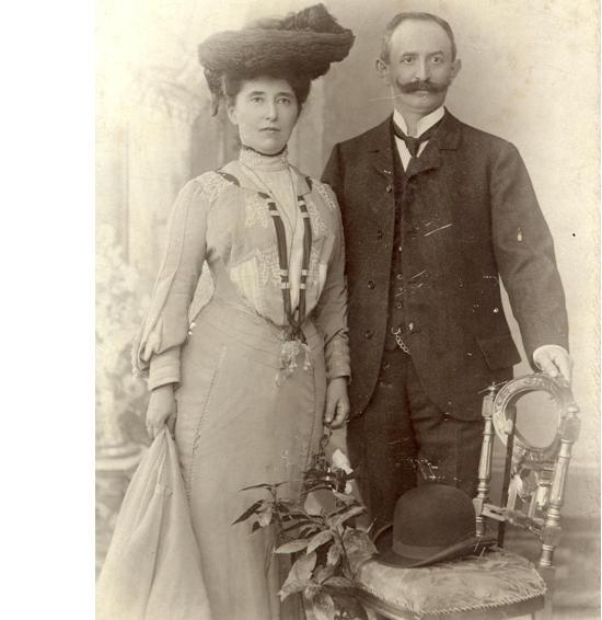 Regina  Aronade i Isidor Jacobowitz