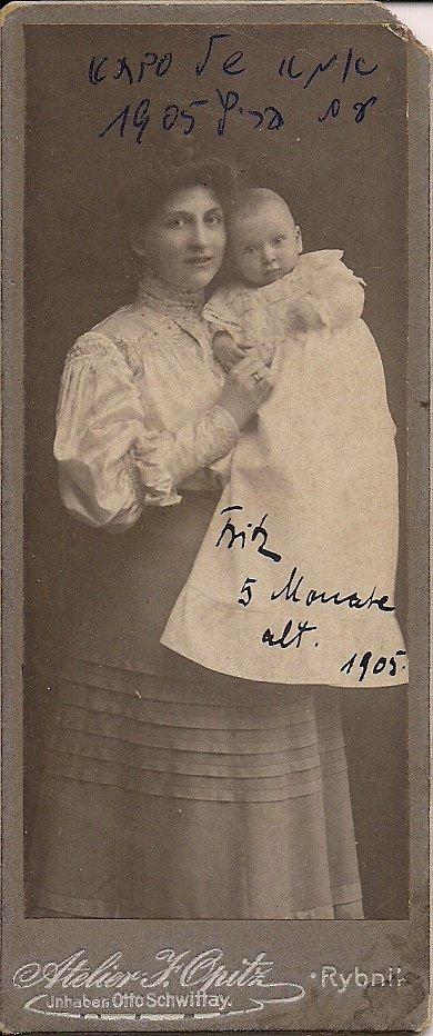 Haase Sonia 1905 rok