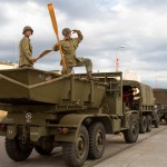Pokaz zabytkowych pojazdów militarnych